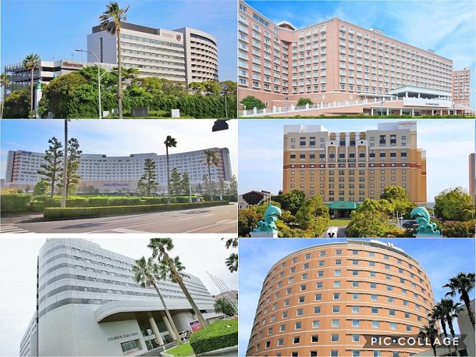 【比較】ディズニー「オフィシャル」ホテル「パートナー」ホテルの違いは?どちらが良い?