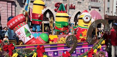 【2018】USJミニオンのクリスマスまとめ!グッズ・パレード・グリーティング・フードなど