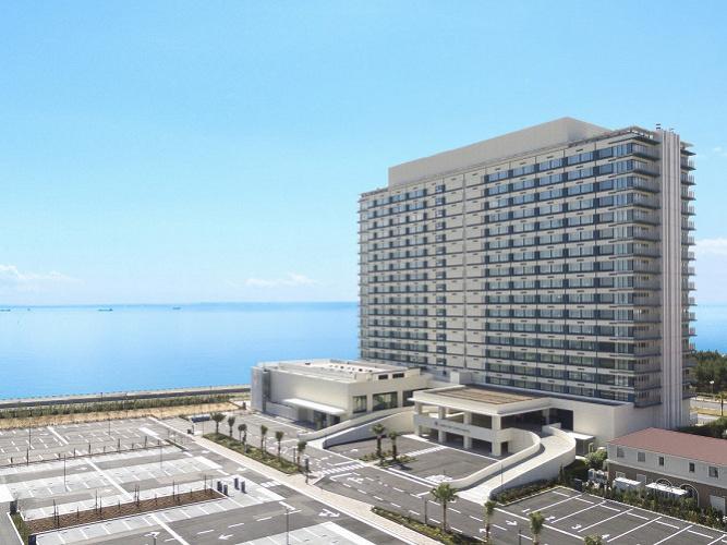 【東京ベイ東急ホテル】2018年、新浦安エリアに誕生!海がテーマの東京ディズニーリゾート®周辺ホテル