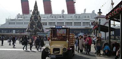 ディズニーシーをゆったり旅するビッグシティ・ヴィークル!雑学・トリビアと共に車種とコースを紹介!