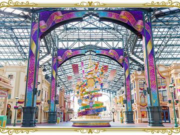 【2018】セレブレーションストリートとは?ディズニー35周年限定のプロジェクションマッピング開催!