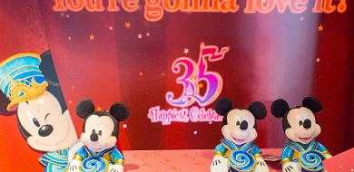 【2/10発売】ディズニーランド35周年グッズ12選「オープニングスーングッズ」ミッキーデザインのお土産