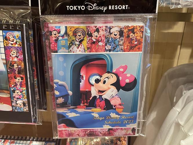 【2018】ディズニーのカレンダー&手帳・スケジュール帳!ランド・シーで買える10種類