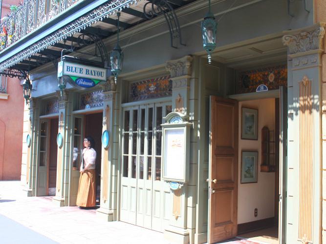 【必見】カリブの海賊にあるレストラン「ブルーバイユーレストラン」予約&メニュー・値段