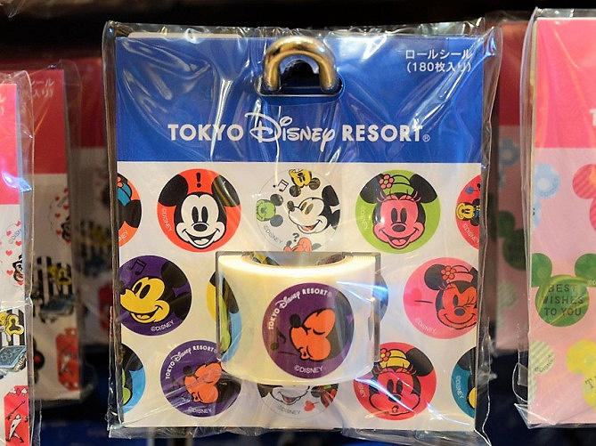 【2019】ディズニーランド&シーのシール7選!マスキングテープ・フレークシール・ロールシール