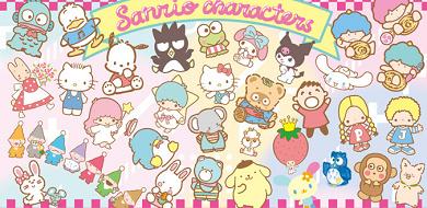 【サンリオ】キャラクター全23種類まとめ!ハローキティ・ぐでたま、サンリオ男子など