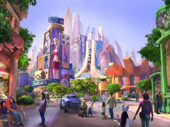 【最新】上海ディズニーランドに「ズートピアエリア」がオープン決定! 2019年着工!エリア全体予想も!