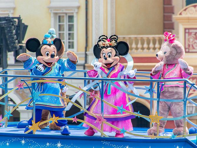 【最新】ディズニー七夕デイズ2019お土産グッズ&ショーパレード情報!初開催スターライト・ウィッシングプレイス!