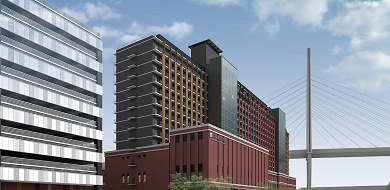 【リーベルホテル アット ユニバーサル・スタジオ・ジャパン】広大なベイテラスと天然温泉の大浴場があるオフィシャルホテル