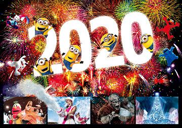 【2019-2020】ユニバのカウントダウン開催決定!チケット、時間、今年の見どころは?