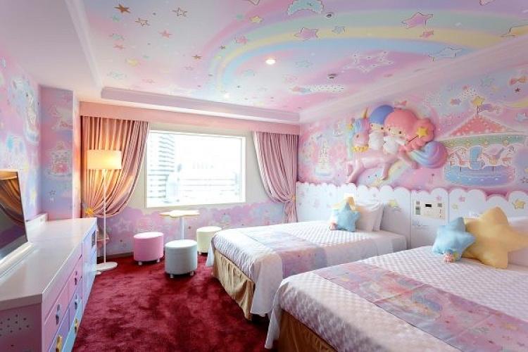 【京王プラザホテル多摩】サンリオキャラクタールーム&おすすめプラン!部屋の種類、料金、アメニティは?
