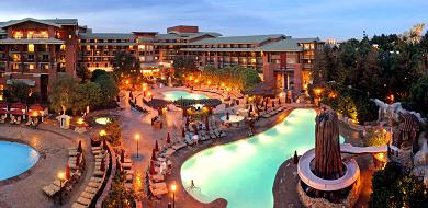 【カリフォルニアディズニー】3つの直営ホテルまとめ&予約方法!特徴やレストラン情報&プール情報も!