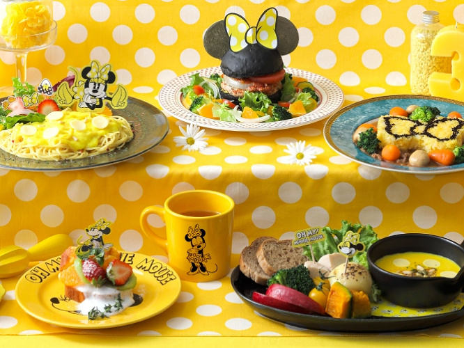 【注目】今回はミニーマウスがテーマ!「OH MY CAFE」オープン!4都市で期間限定開催!