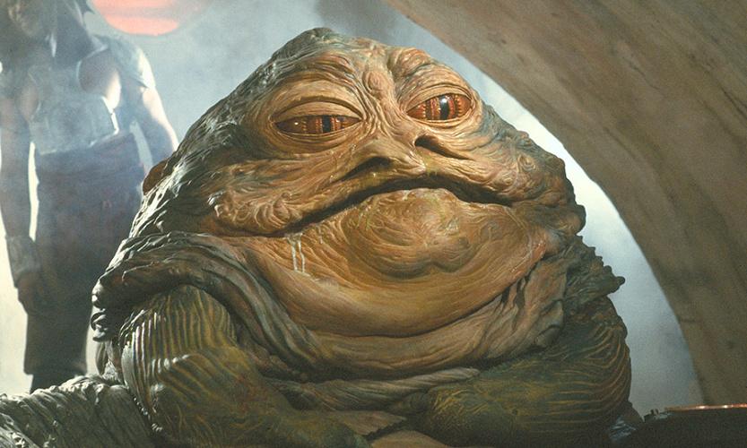 【スターウォーズ】ジャバ・ザ・ハットを解説!制作費は1億円超え!銀河の裏社会を仕切るジャバの正体とは