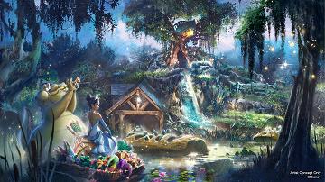 【海外】スプラッシュ・マウンテンが『プリンセスと魔法のキス』テーマに!アトラクション内容は?