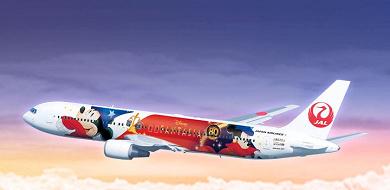 「JAL ドリーム エクスプレス ファンタジア80」就航!ディズニー塗装機のデザイン&内装!運行路線情報も!