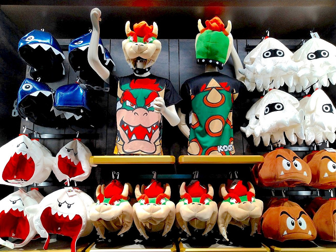 【2021】ユニバのマリオキャラクター被り物26点まとめ!カチューシャ、ぬいぐるみハット、帽子の種類と値段