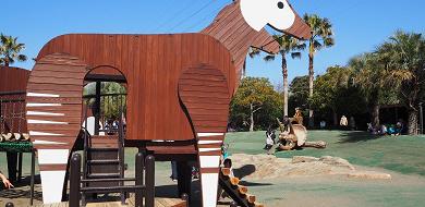 【ズーラシア】アスレチックエリアを解説!園内のアスレチックで体をつかって思いっきり遊ぼう!