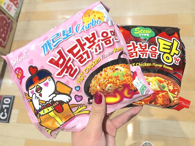【激辛】プルダックポックンミョンを13種類を制覇!韓国インスタント麺の種類や味を解説!