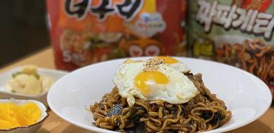 【韓国】チャパグリの作り方!映画パラサイトに登場したレシピは、1人前からでもOK♪
