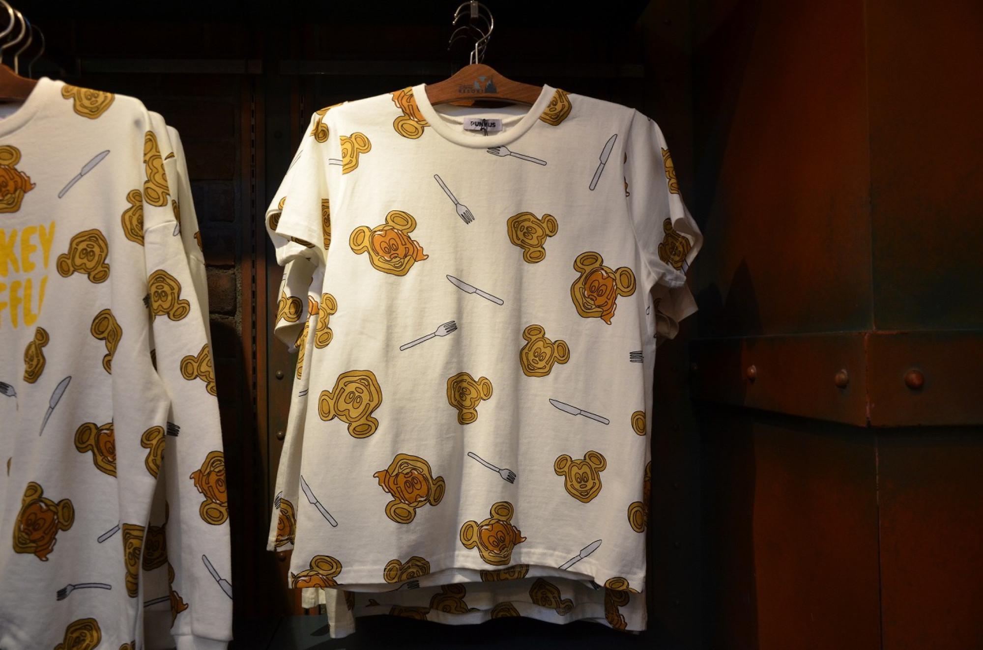 ミッキーワッフルのTシャツ