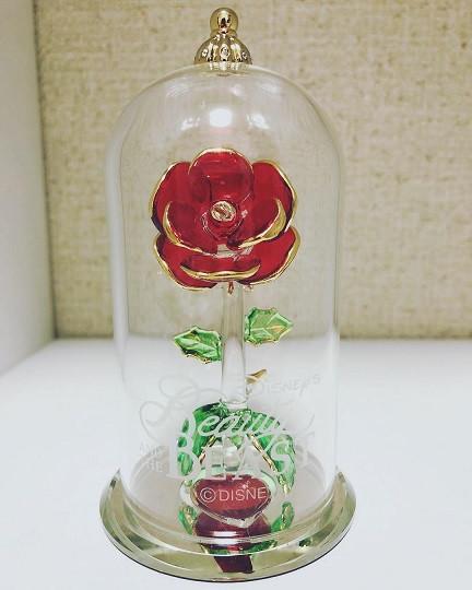バラのガラスドーム