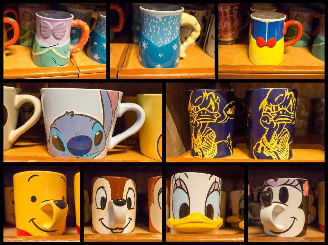 ディズニーのマグカップ