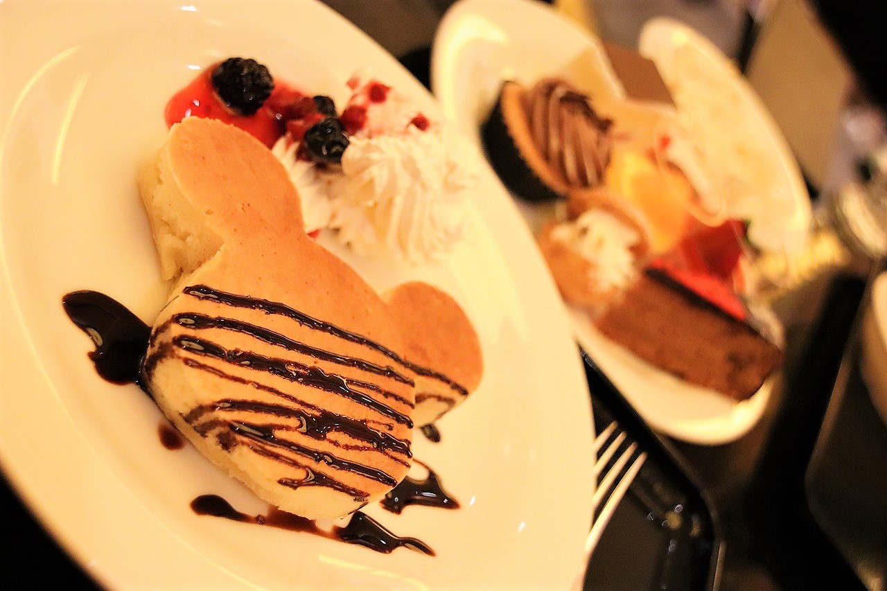 シェフミッキーのパンケーキ