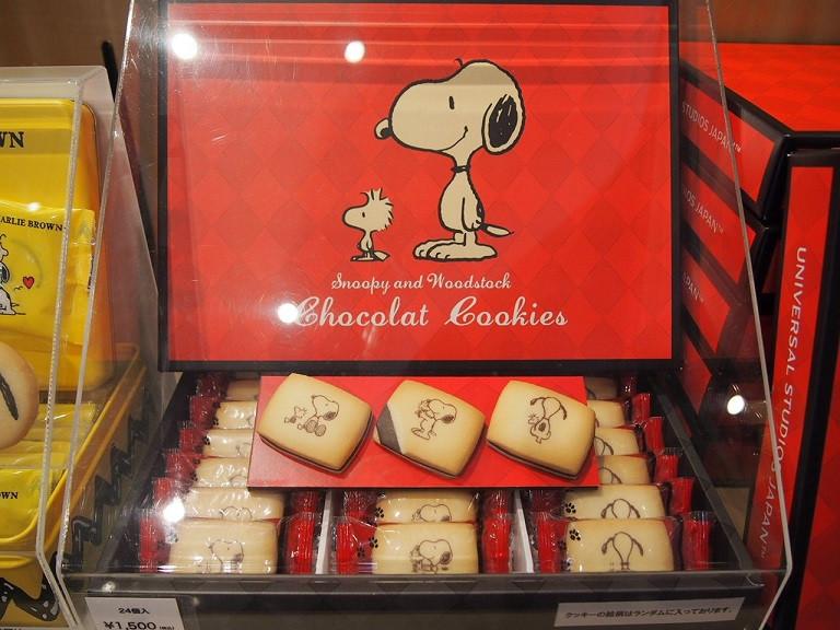 スヌーピーチョコレートクッキー