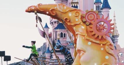 パリのディズニーパークのピーターパン