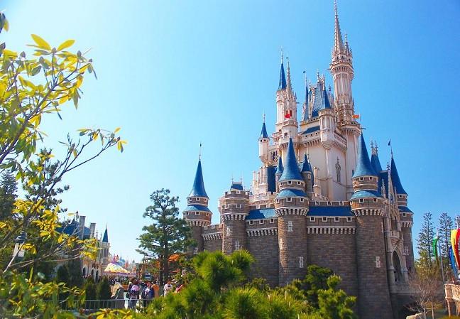 プリンセスといったらお城!