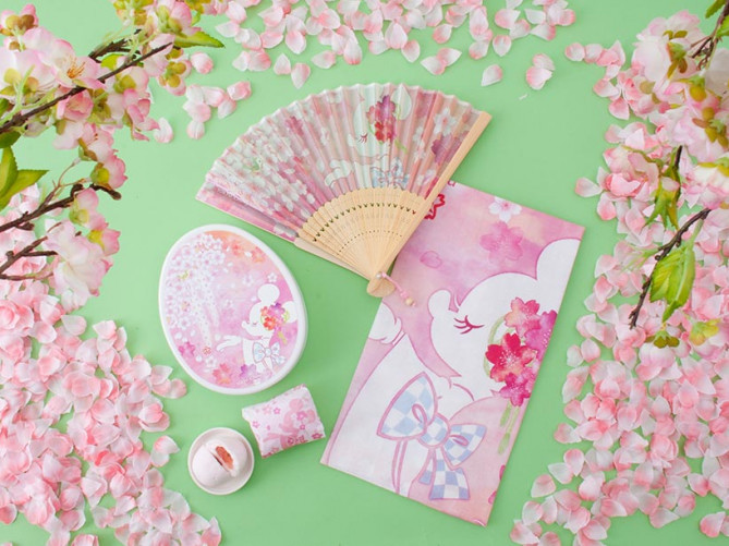 ディズニー桜デザインミニーグッズ