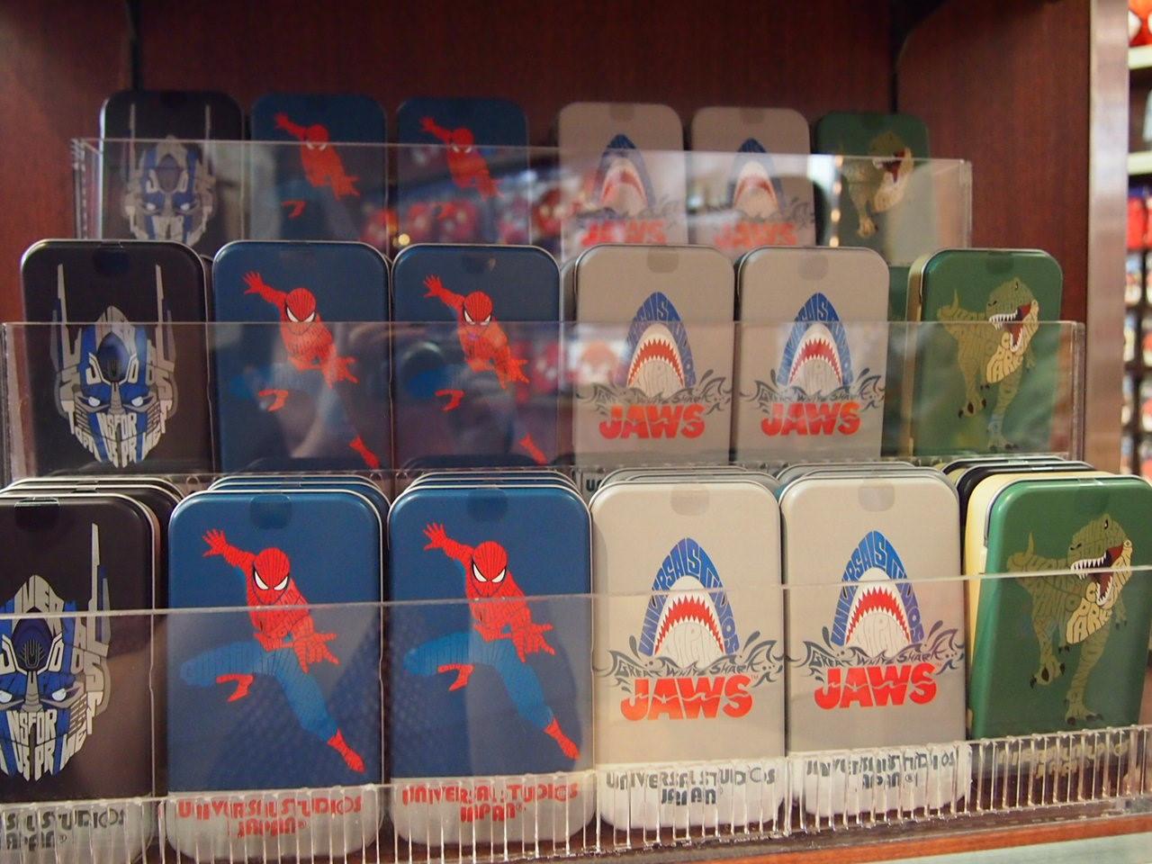 スパイダーマンタイポグラフィ缶入りクッキー
