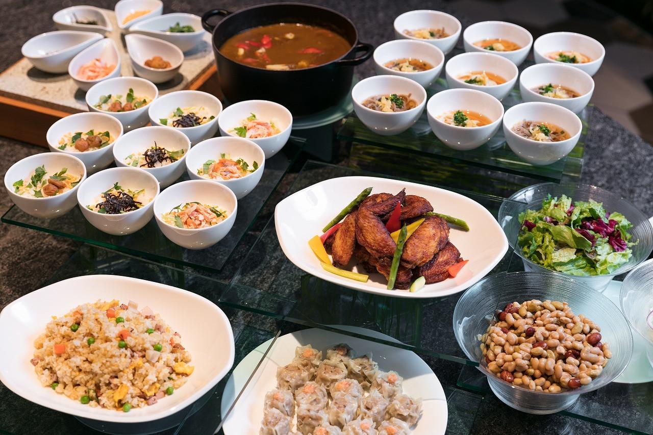 東京ベイ東急ホテルの夜食