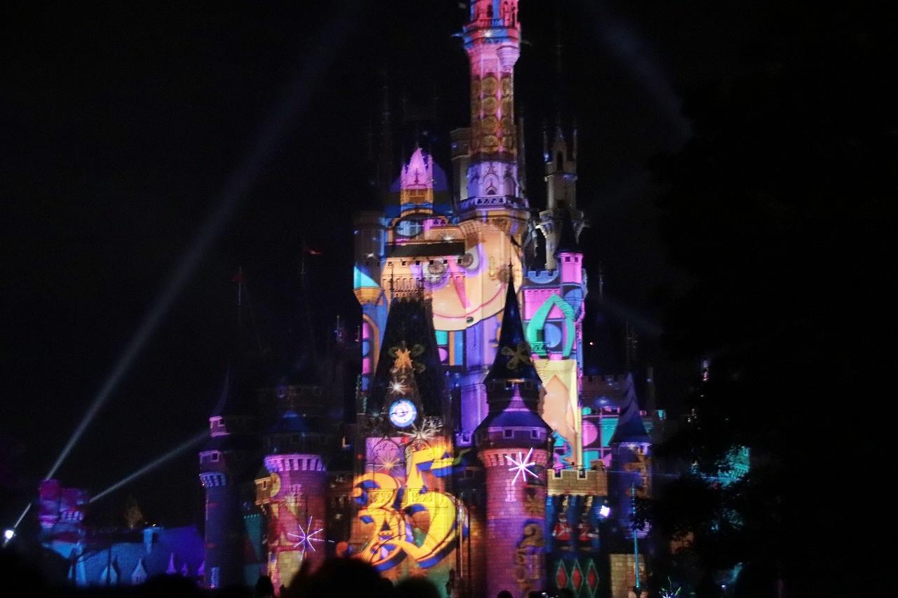 新ナイトショー「Celebrate! Tokyo Disneyland」