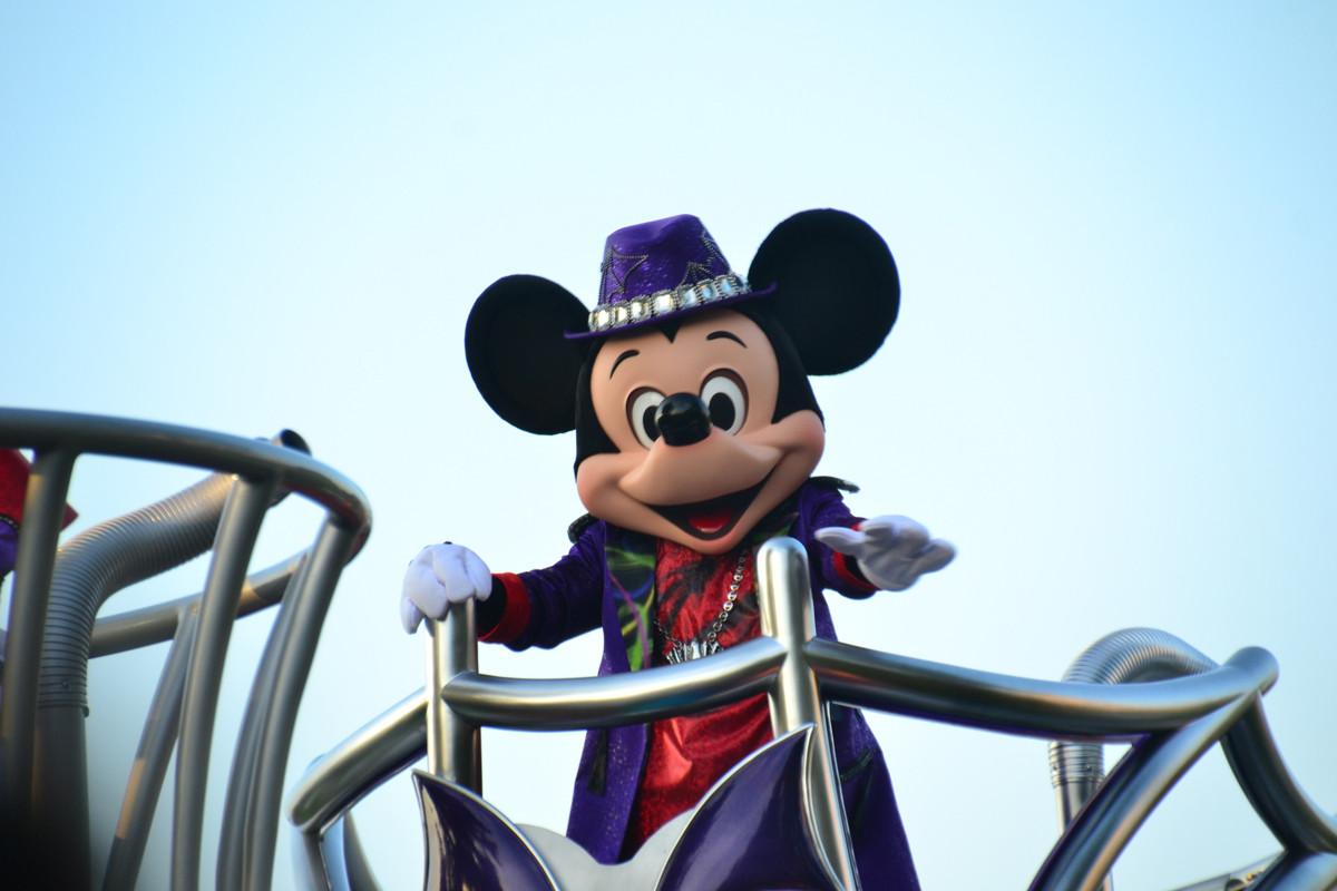 東京ディズニーランドのミッキーマウス