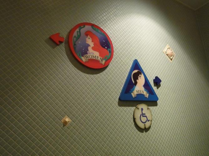 女性必見★ディズニーランド&シーの混雑しないトイレはここだ!
