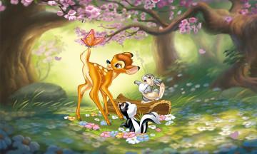 ディズニー映画「バンビ」のあらすじや登場人物キャラクター