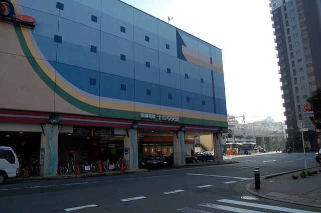 京成千葉中央駅外観