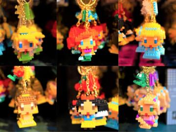 【6/1発売】ディズニーナノブロック型キーホルダー10選!ミッキーやディズニープリンセスが登場