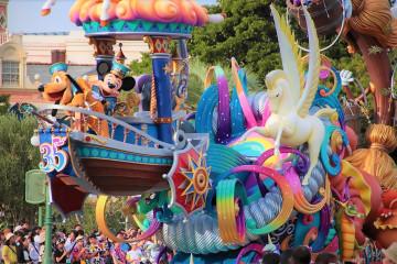 ディズニーランド&ディズニーシーイベントスケジュール2018!35周年情報も!