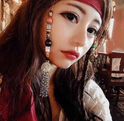 女海賊メイク