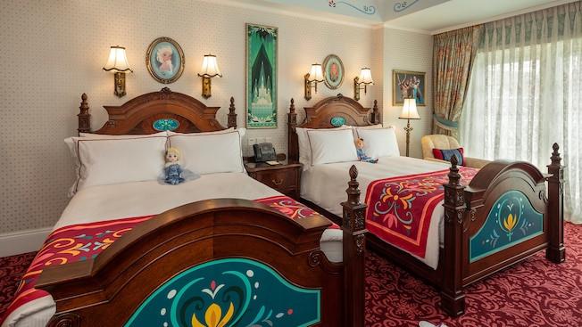 香港ディズニーランドホテルの部屋