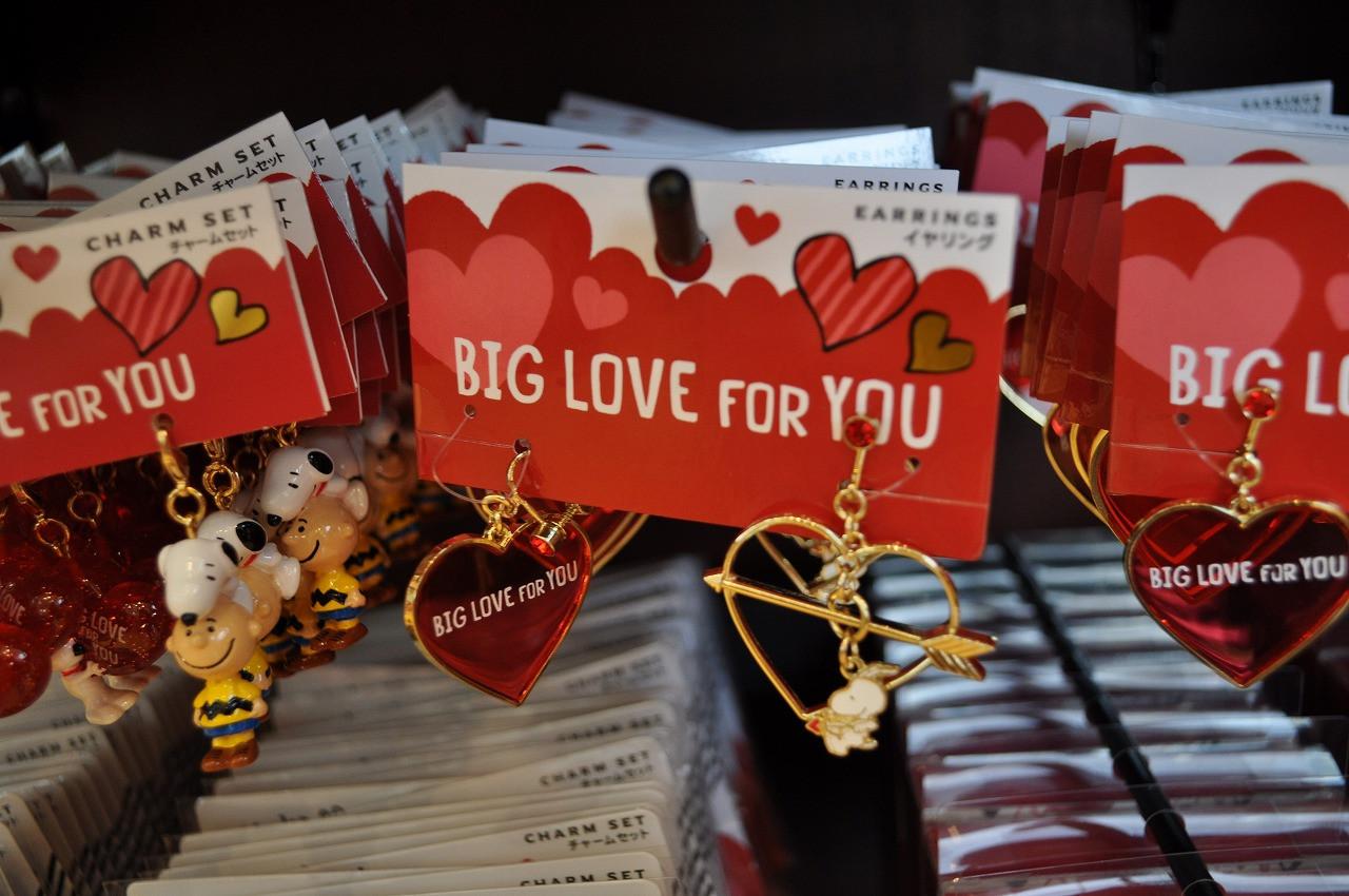 スヌーピー「BIG LOVE FOR YOU」イヤリング