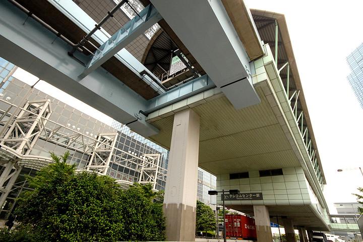 ゆりかもめ「テレコムセンター駅」