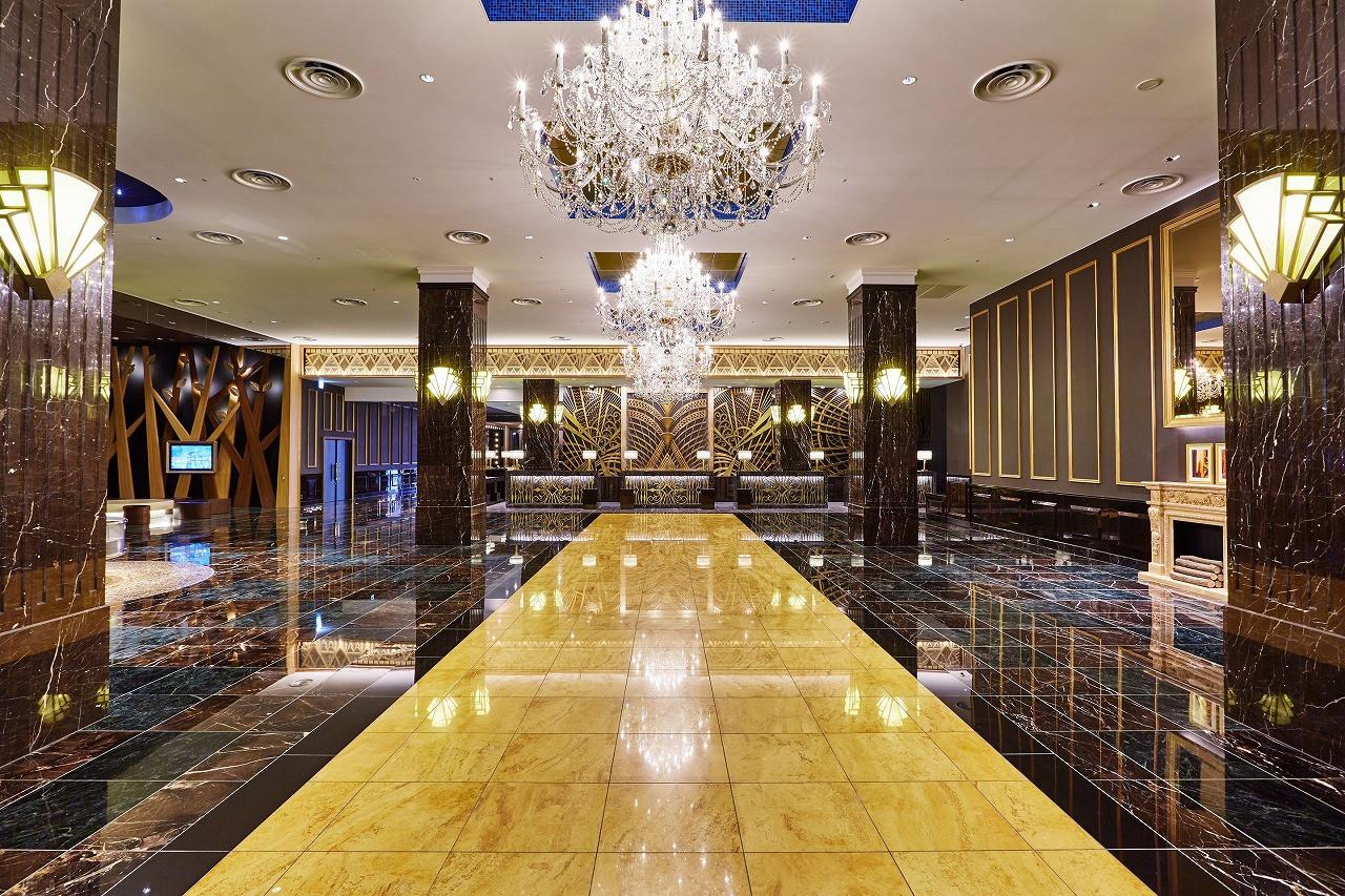 ザパークフロントホテルのロビー