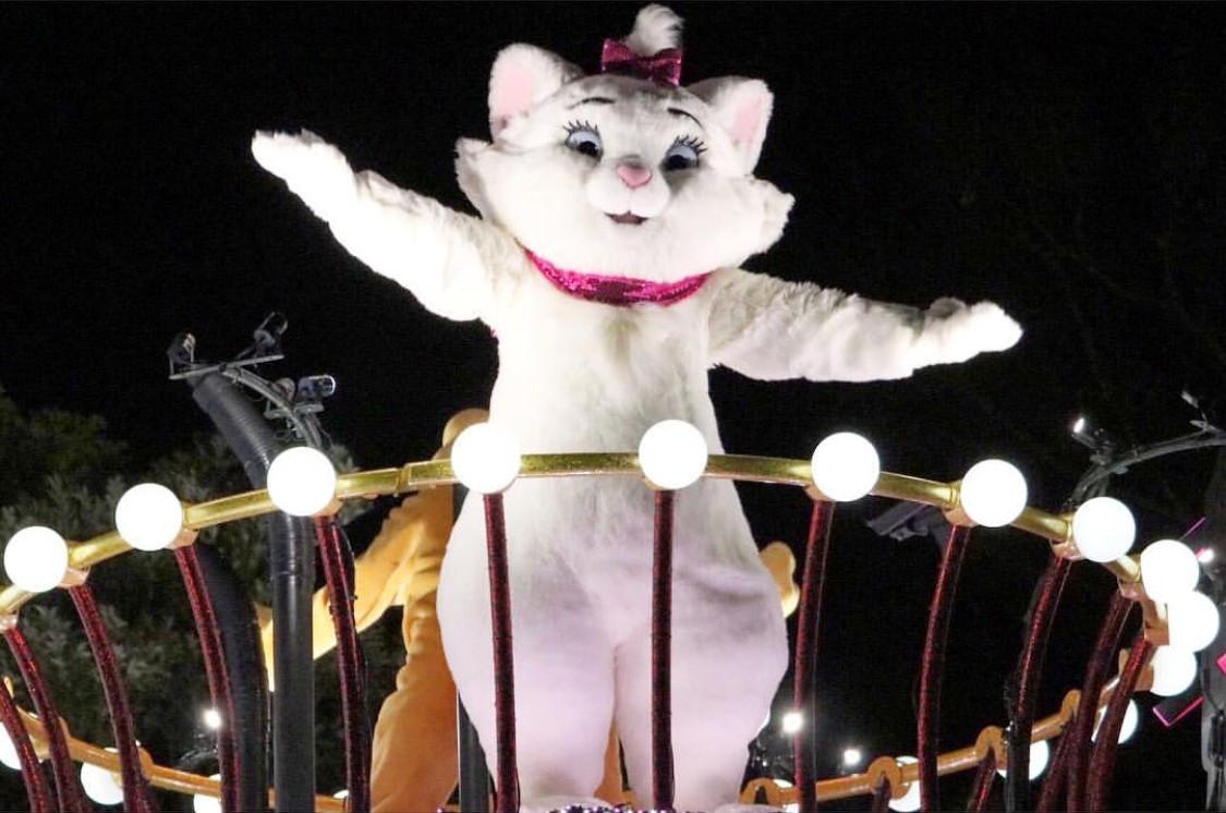 エレクトリカルパレードでのマリー