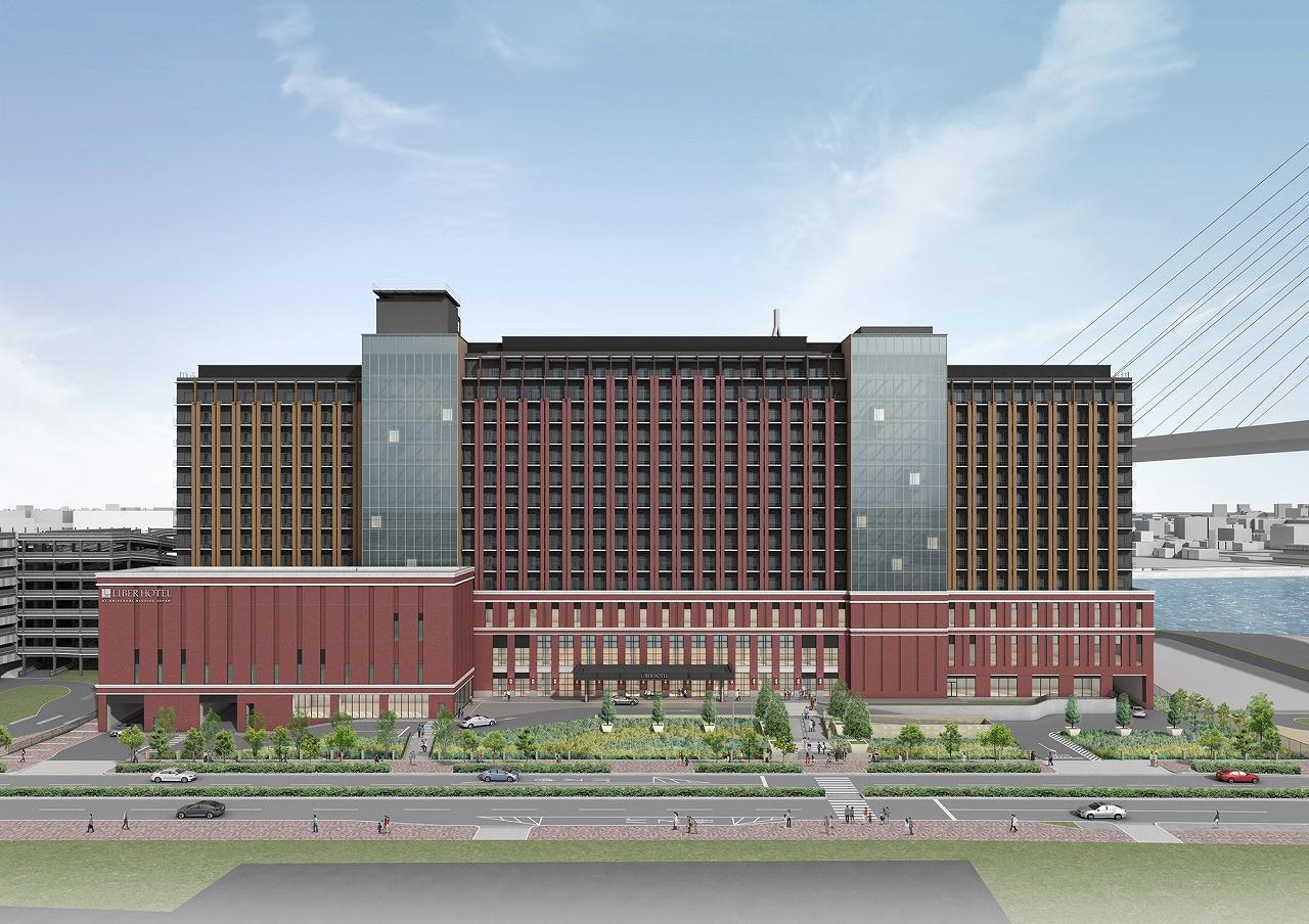 リーベルホテル アット ユニバーサル・スタジオ・ジャパン 外観イメージ図