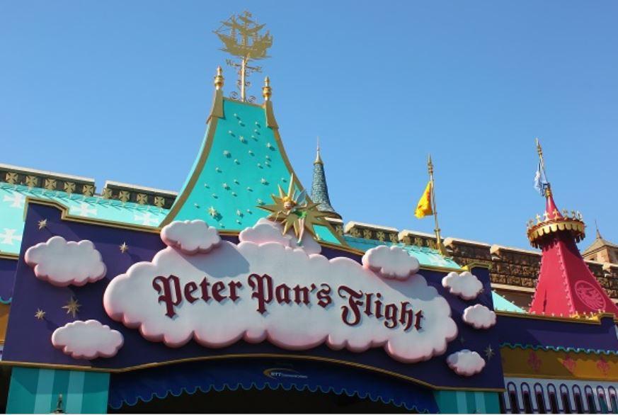 ピーターパン空の旅の入り口
