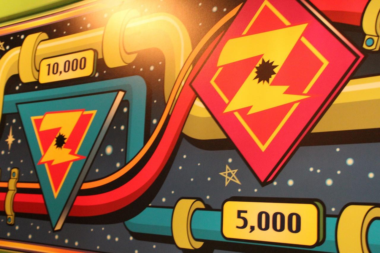【TDL】アストロブラスターの隠れ高得点的を攻略!子供でも近距離から狙える1万点ポイントはココ!